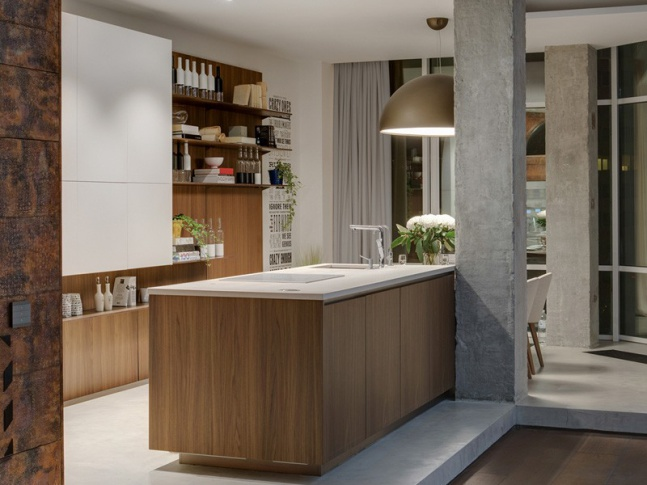 Odessa - kuchyně Open Space - kuchyně