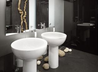 Toalety kavárny Cafe New One