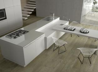 Kuchyň s jídelnou Bassano Parquet