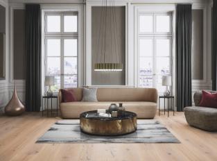 Boen Chaletino v obývacím pokoji