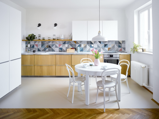 Byt Ostrava-Poruba - kuchyň