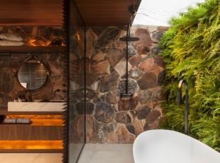 Oáza v São Paulo - koupelna