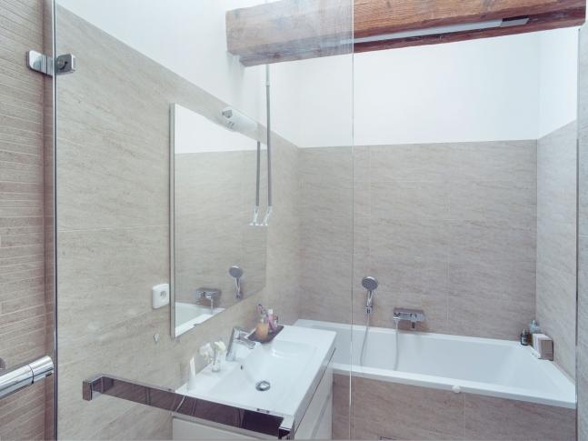 Půdní vestavba, Praha 5 - koupelna půdní vestavba, praha 5 - koupelna