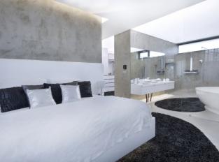 Ložnice s koupelnou - RD Brno