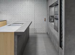 Kuchyň šedých tónů