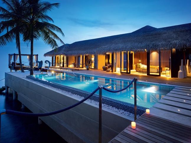 VELAA PRIVATE ISLAND MALDIVES ROMANTIC POOL RESIDENCE