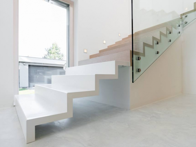 Klenovice / schodiště