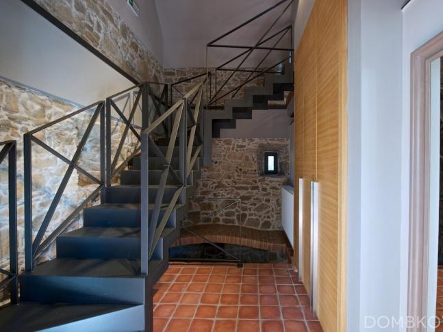 Statek u Písku - schodiště schodiště