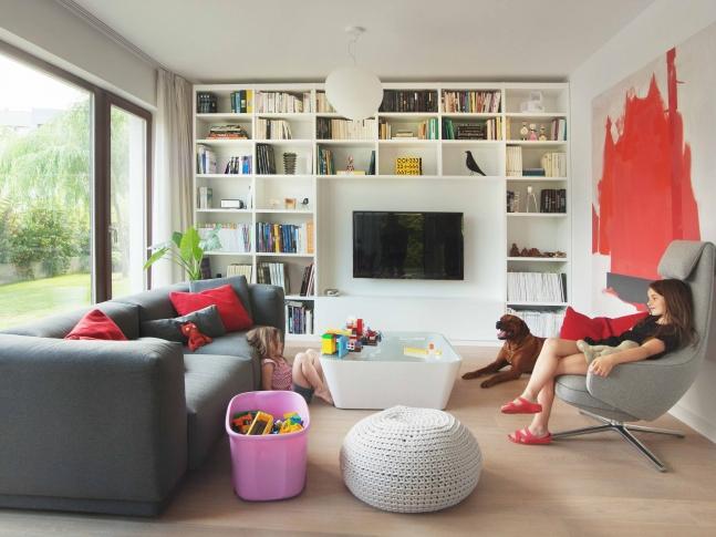 obývací pokoj, vila - Slivenec I
