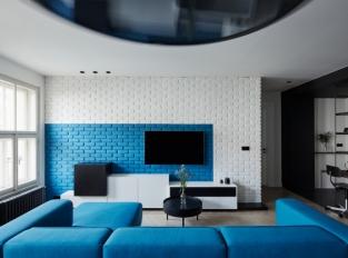 Ovenecká - obývací část