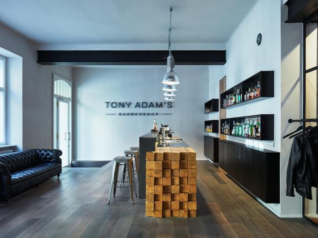 Barber shop Tony Adam's.