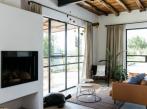 Obývací pokoj v domě na Ibize