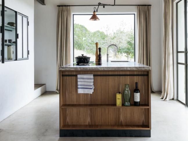 Kuchyně v domě na Ibize