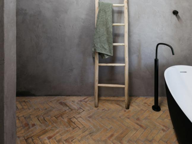Koupelna v domě na Ibize