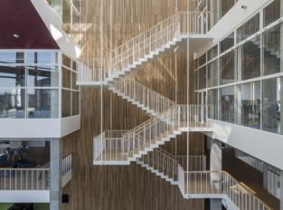 Interiér školy v Sydhavenu, Kodaň