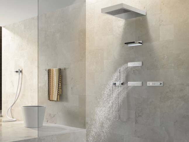 Koupelna Vertical Shower
