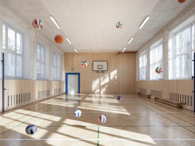 Tělocvična školy Járy Cimrmana