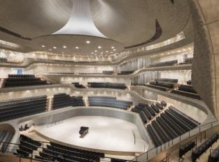 Sál v Elbphilharmonie