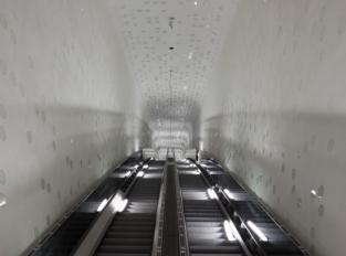 Eskalátory v Elbphilharmonie