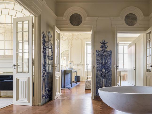 Koupelna v Palácio de Santa Catarina