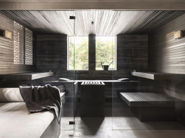 Villa Tra: Sauna