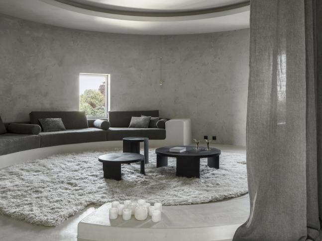 Obývací pokoj bytu Arjaan De Feyter