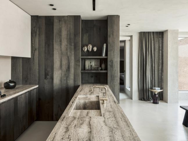 Kuchyně bytu Arjaan De Feyter