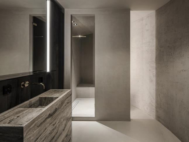 Koupelna bytu Arjaan De Feyter
