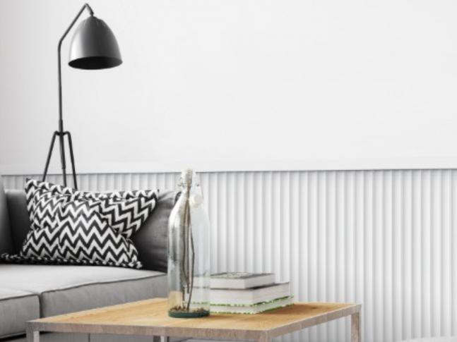Obývací pokoj s 3D krytinou