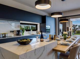 Kuchyň Technistone Crystal Calacatta