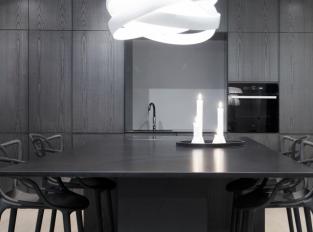 Technistone® Gobi Black v kuchyni
