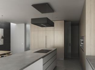 Kuchyň s vekou pracovní plochou