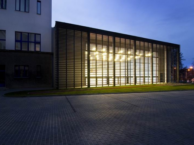 Tělocvična Gymnázia Jana Keplera