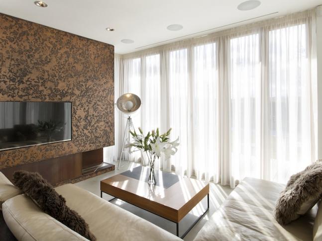 RD Benice - obývací pokoj