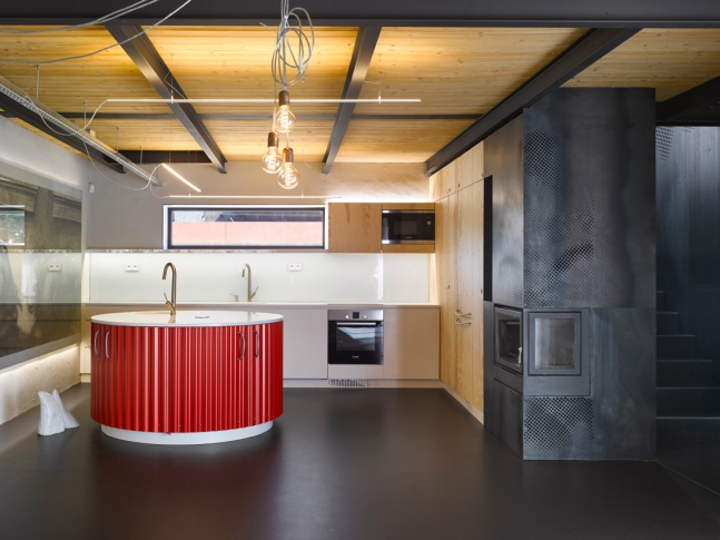 Svinaře - kuchyň
