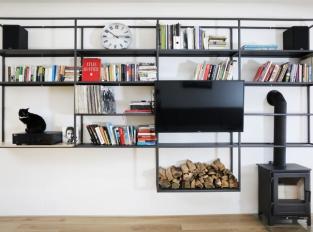 Byt v podkroví - obývací část