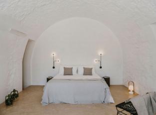 Ložnice hotelu Masseria Dagilupi
