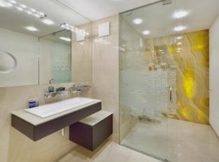 Koupelna vily v Děčíně