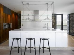 Kuchyně vily v Řitce