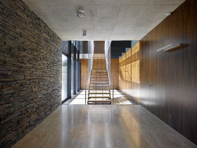 Schodiště vily v Řitce Vila Řitka schodiště