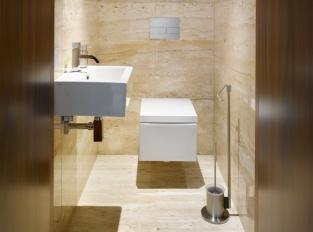 Toaleta vily v Řitce
