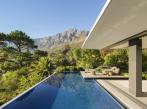 Terasa s bazénem v domě v Kapském Městě