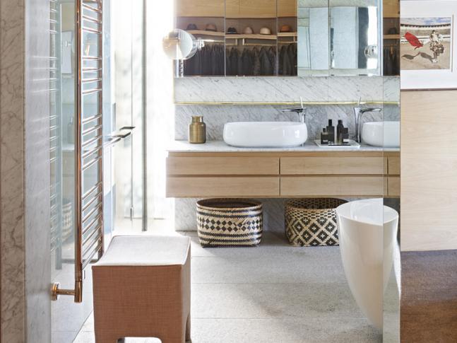Koupelna v domě v Kapském Městě