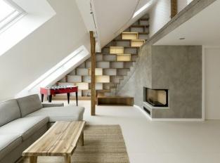 Obývací pokoj Zaobleny Loft