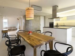 Kuchyně Zaoblený loft