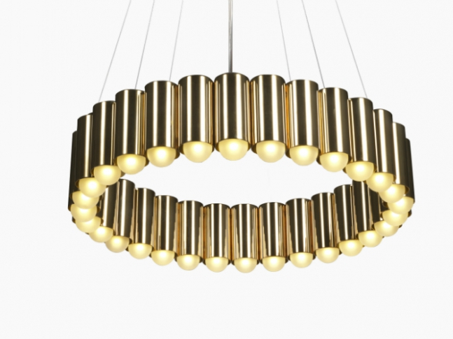 Lee Broom - CAROUSEL 02-Carousel-Polished-Brass