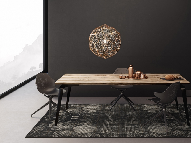Zátěžový koberec RugXstyle Aberdeen s jedinečným designem Žakárový květinový vzor na zátěžovém kusovém koberci RugXstyle.