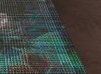 Zátěžový kusový koberec RugXstyle Amsterdam Kusový zátěžový koberec RugXstyle v hnědo-zelené barvě.