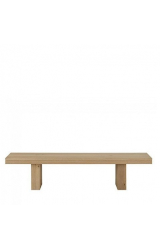 Double Oak Bench