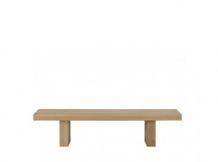 Double Oak Bench